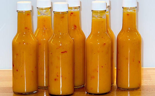 Harald's Peach Passion Hot Sauce