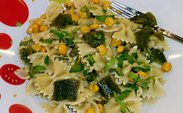Roasted Poblano Pasta